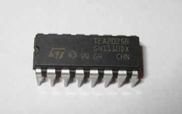 TEA2025B 2.5w + 2.5w Stereo Amplifier 16 pin DIP Pack of 1